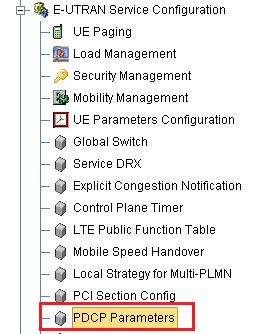 TD-LTE-eNodeB-Radio Parameter Configuration at the VoLTE